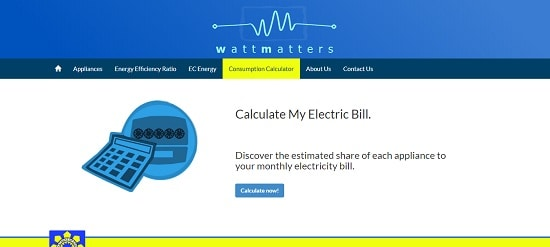 electricity consumption calculator