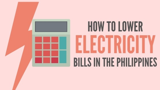 how to lower meralco electricity bill