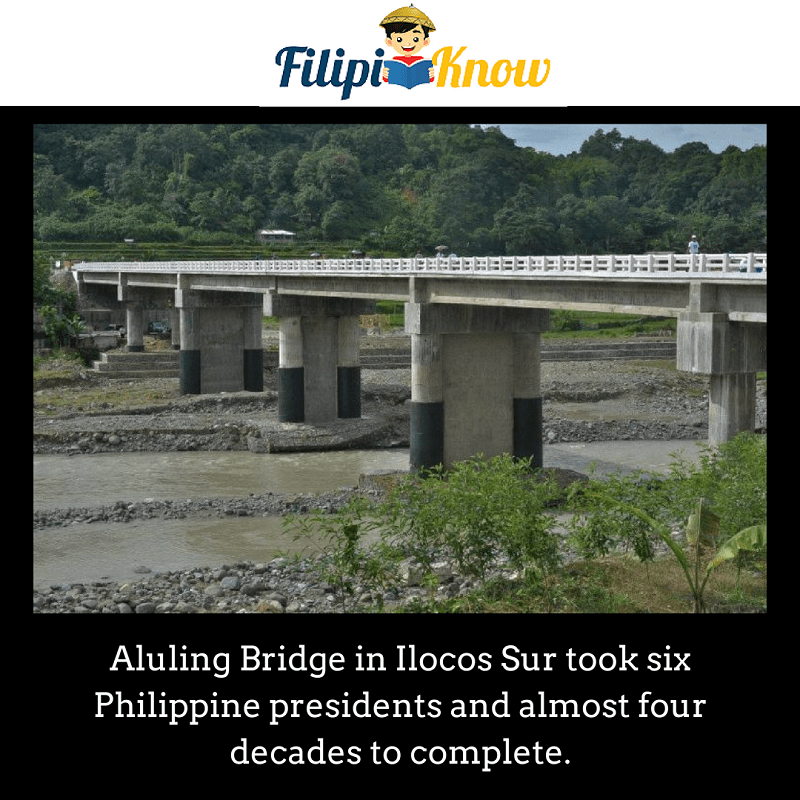 Aluling Bridge in Ilocos Sur