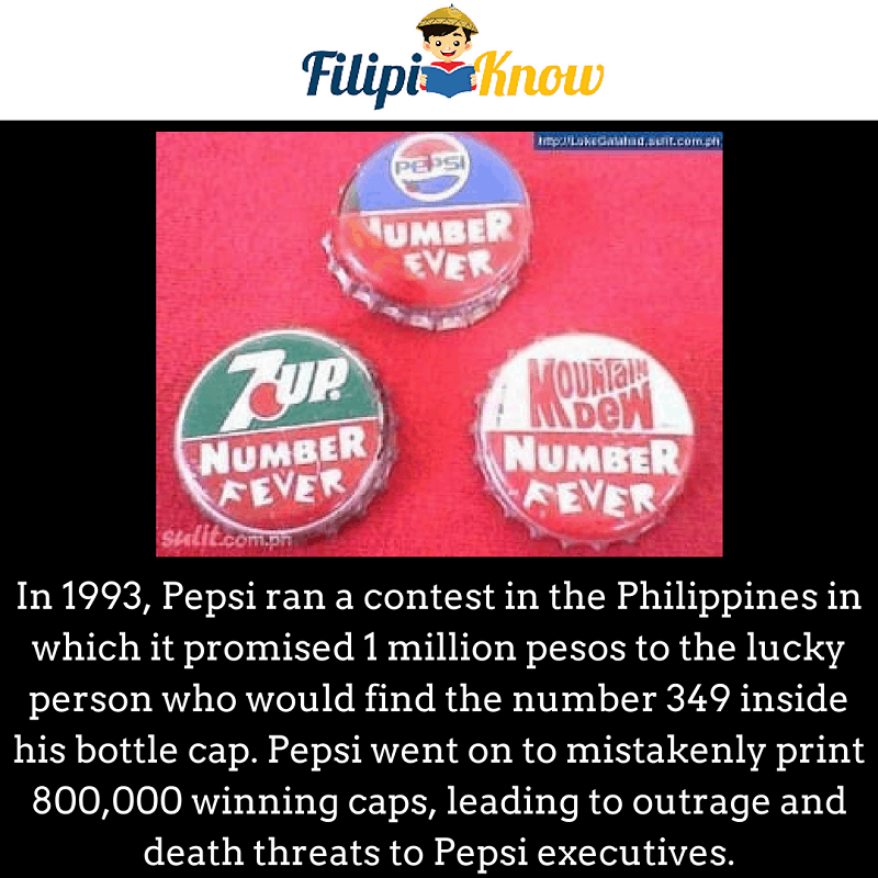 Pepsi number fever fiasco