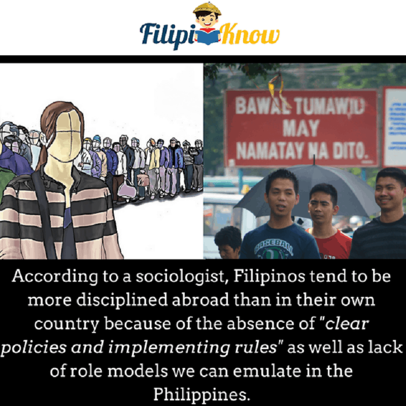 filipinos lack of discipline