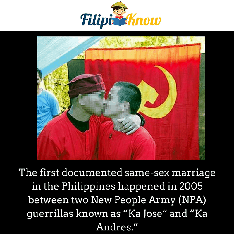 first same sex marriage in the Philippines