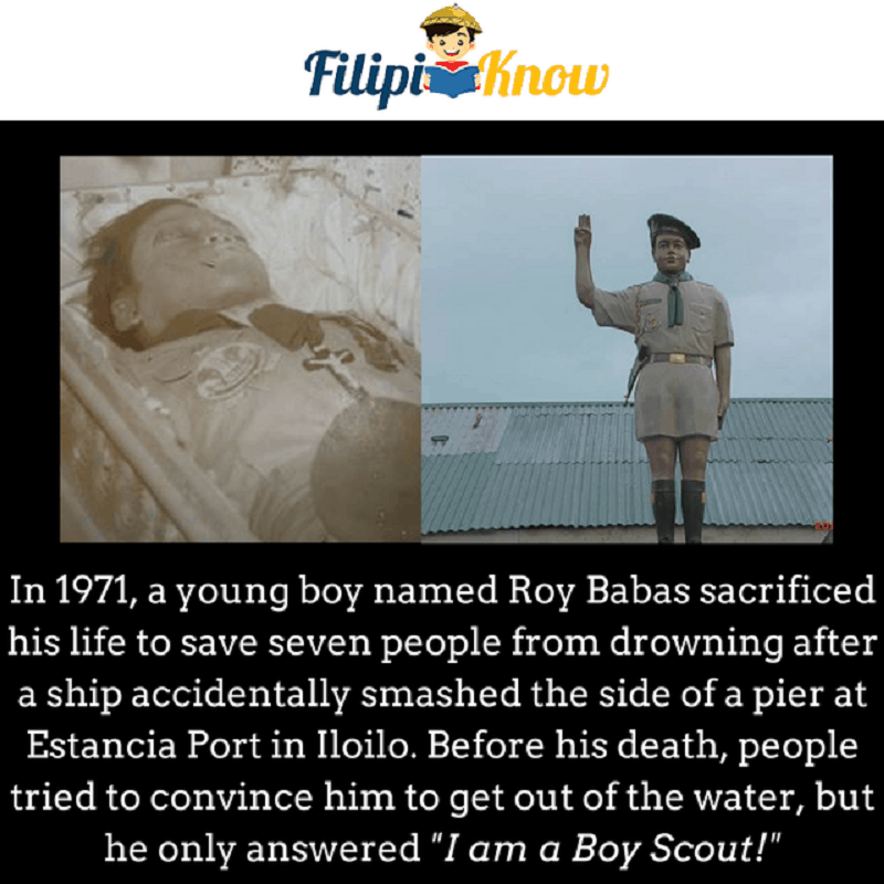 roy babas boy scout hero of iloilo