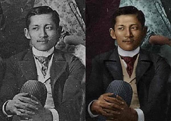 philippine historic photos colorized