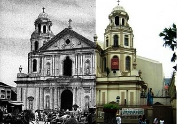 Awesome Then & Now Photos of Metro Manila