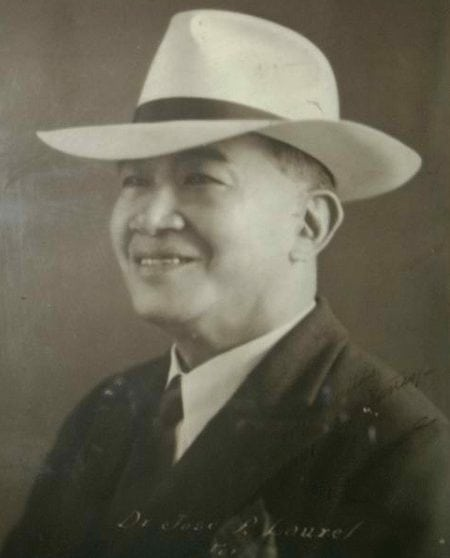 Portrait of Dr. Jose P. Laurel