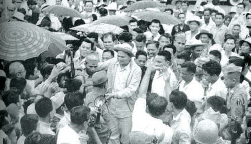 Ramon Magsaysay, man of the masses