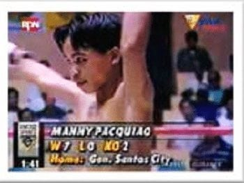 manny pacquiao in blow by blow