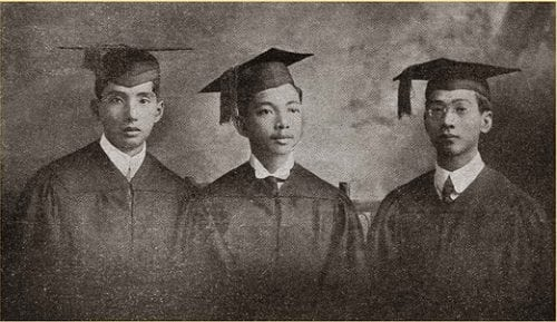First graduates of the University of the Philippines in 1911