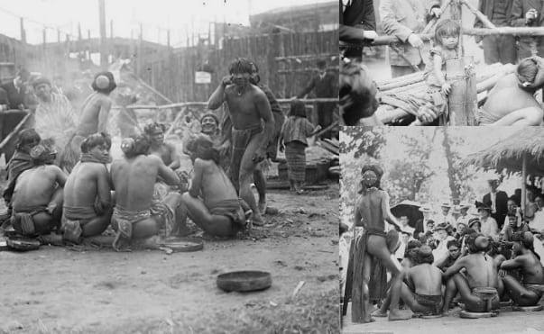 Filipinos in Human Zoo