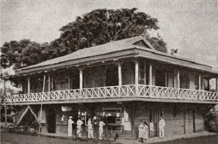 The first building of the UPLB College of Agriculture