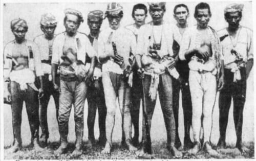 Moro warriors of WWII