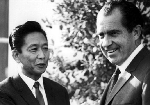 Ferdinand Marcos and Richard Nixon