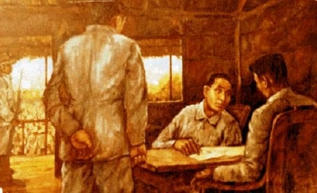 Apolinario Mabini and Emilio Aguinaldo