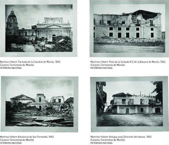 Photos of the 1863 earthquake aftermath in Manila