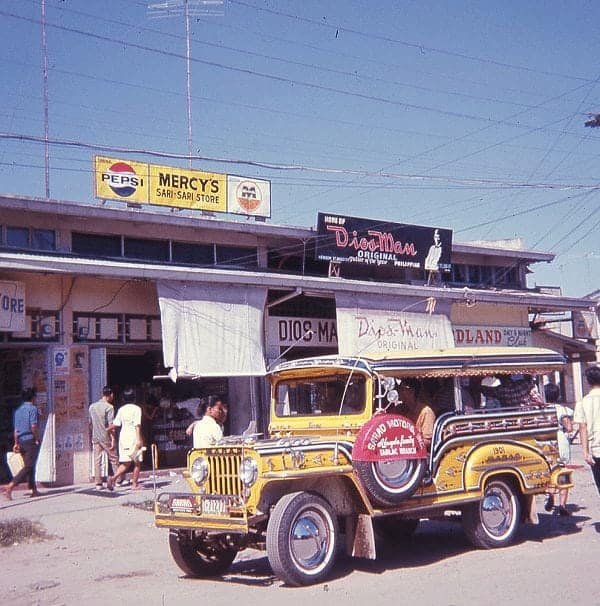 Angeles City, Pampanga, late 1960s