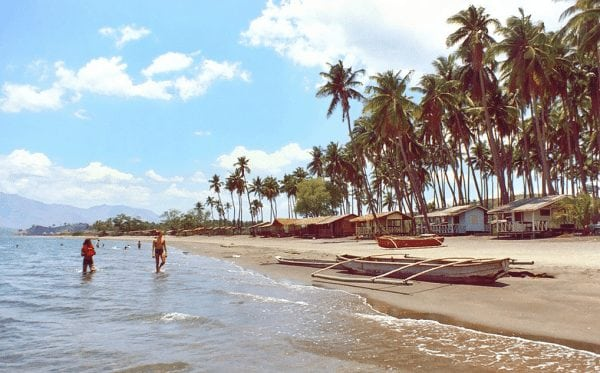 Baloy Beach in Olongapo, late 1960s.