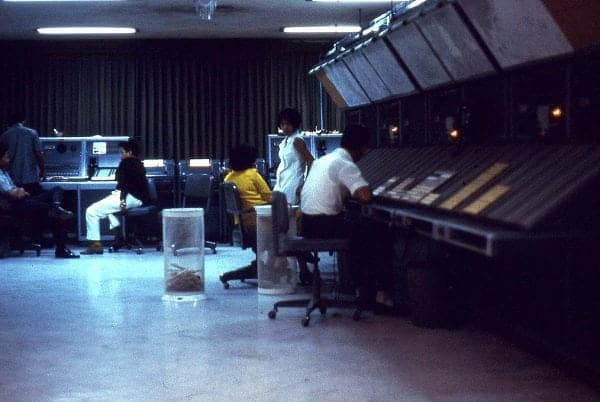 Manila Air Traffic Control Center, Manila International Airport, 1969