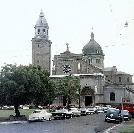 Manila Cathedral in 1968