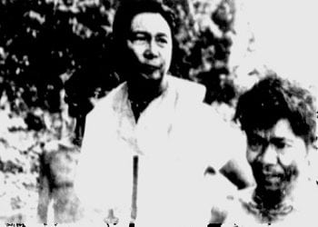 President Ferdinand Marcos with the Tau't Bato tribe in 1978