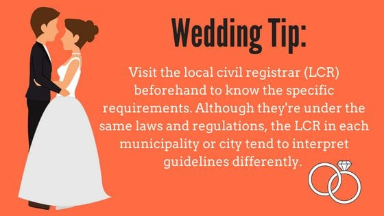 Where To Register For Wedding.How To Get Married In The Philippines In 2019 An Ultimate Guide