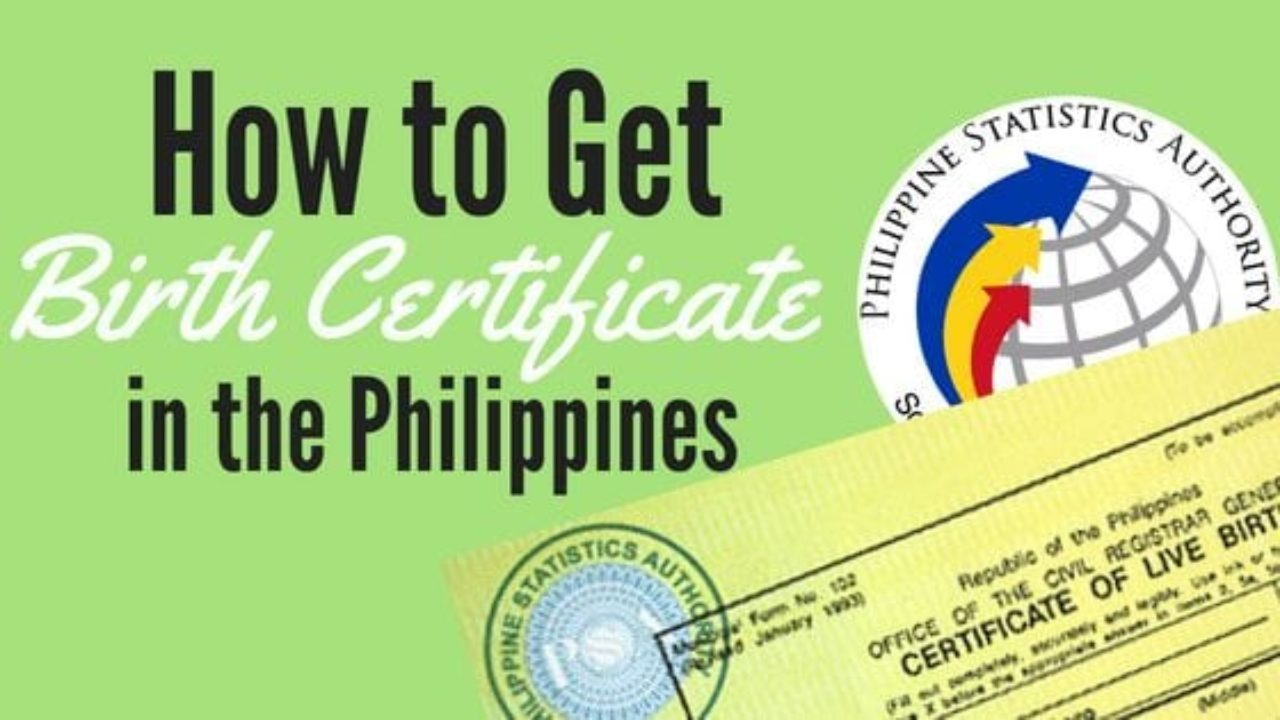 How To Get Birth Certificate In The Philippines 4 Ways With Pictures
