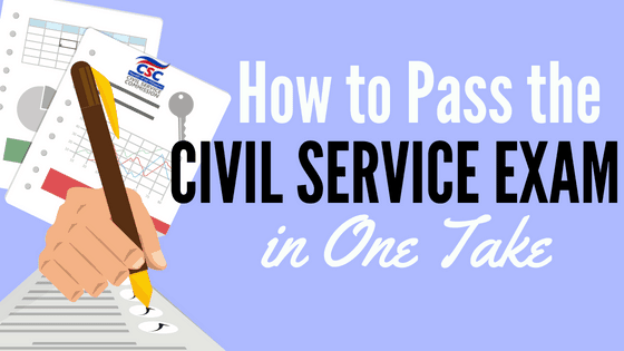 How to Pass Civil Service Exam in One Take