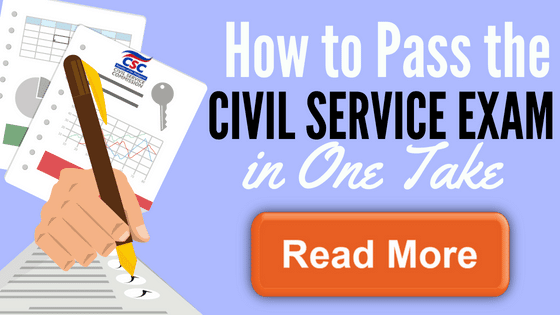 how to pass the civil service exam in one take