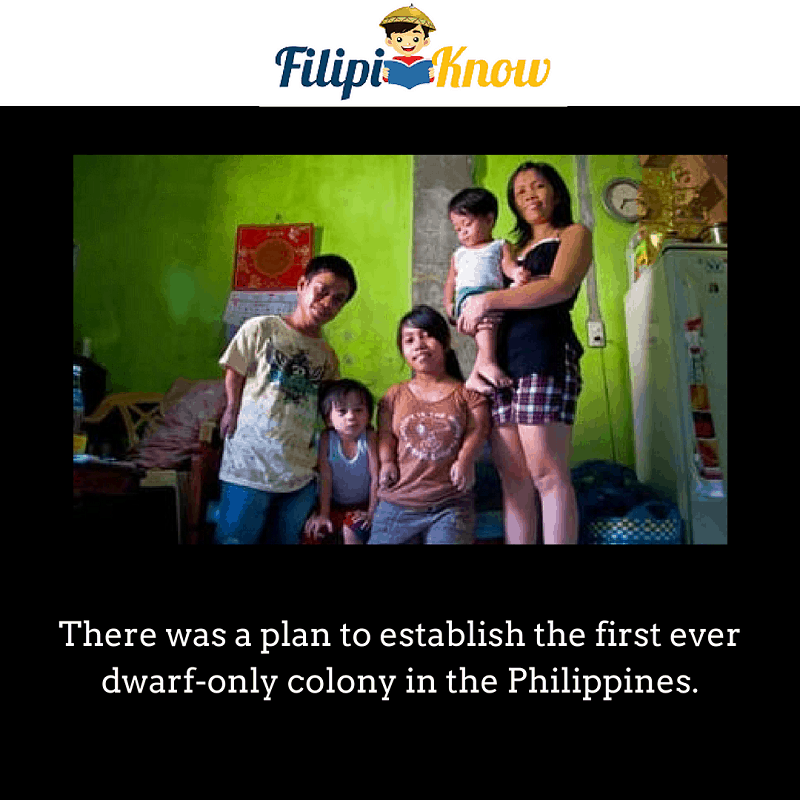 dwarf only colony in the Philippines