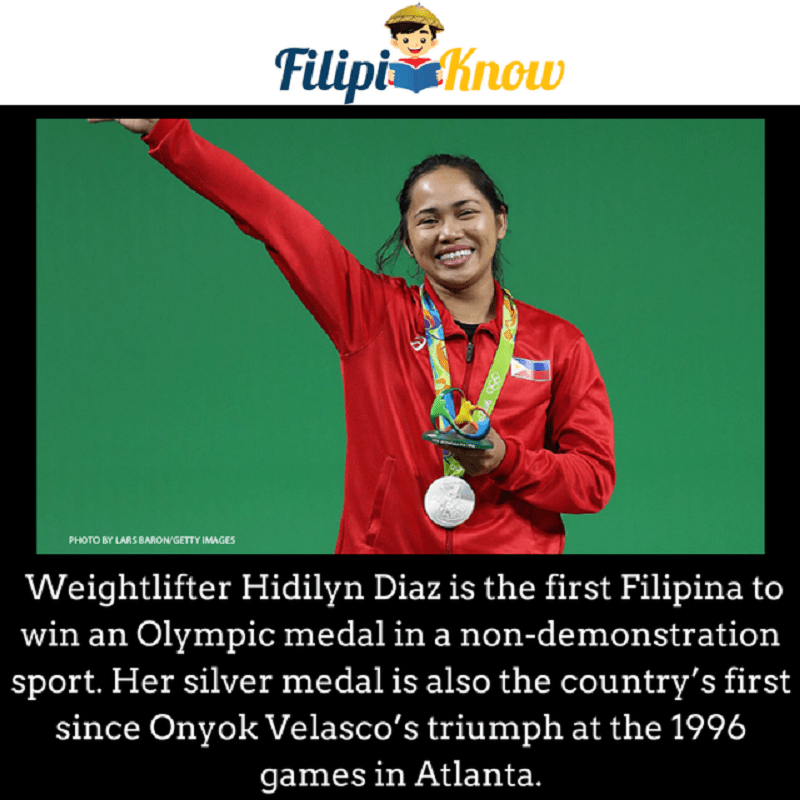 hidilyn diaz olympic silver medal weightlifting