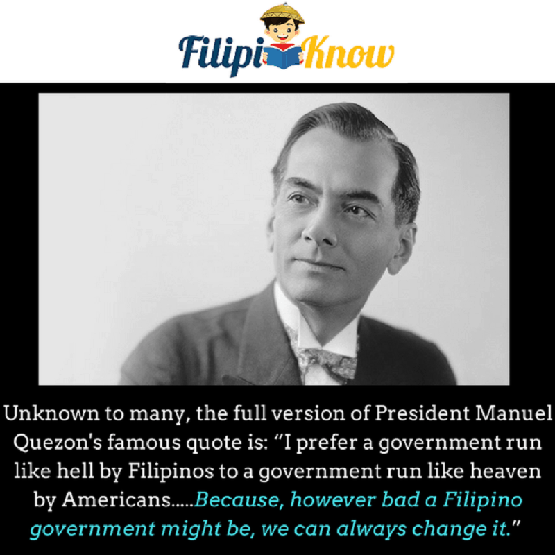 president manuel quezon quote