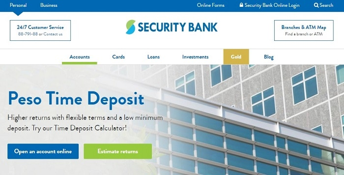best bank in the philippines for time deposit