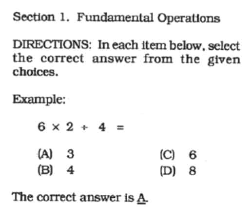 nmat reviewer fundamental operations