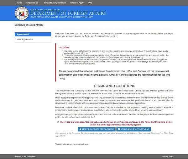 philippine-passport-appointment-individual-or-group