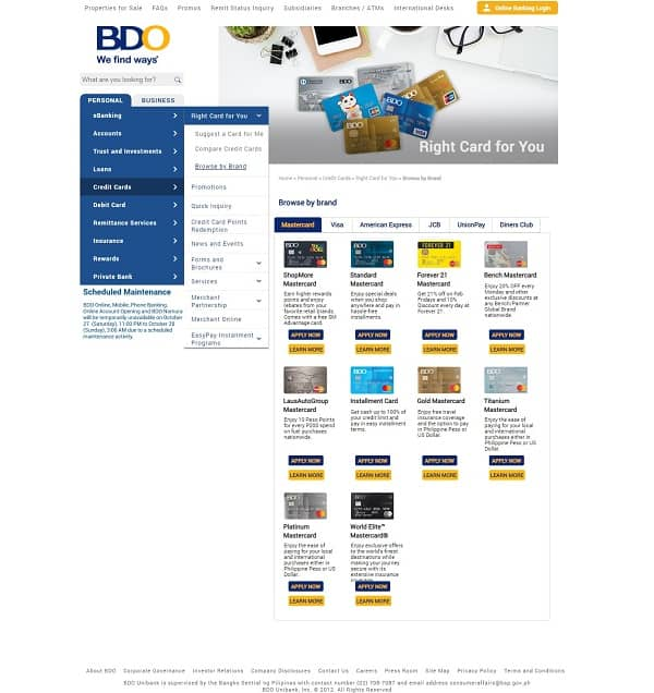 How to Apply for BDO Credit Card: A 7-Step Guide to Getting