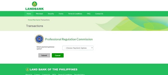 how to process prc application online
