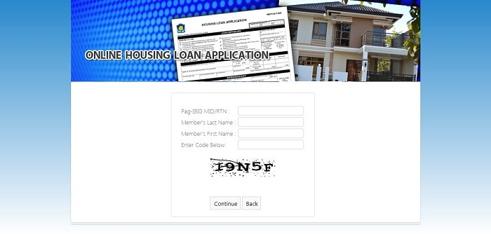 how to apply pag ibig housing loan online