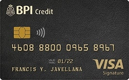 BPI Visa Signature Card