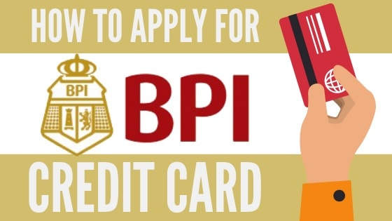 bpi credit card application