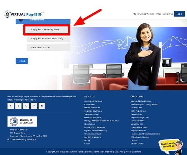 how to apply for pag ibig housing loan through virtual pag ibig