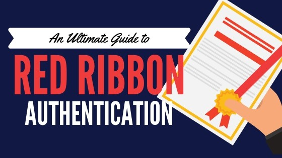 red ribbon authentication of documents dfa