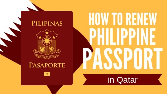 how to renew philippine passport in qatar