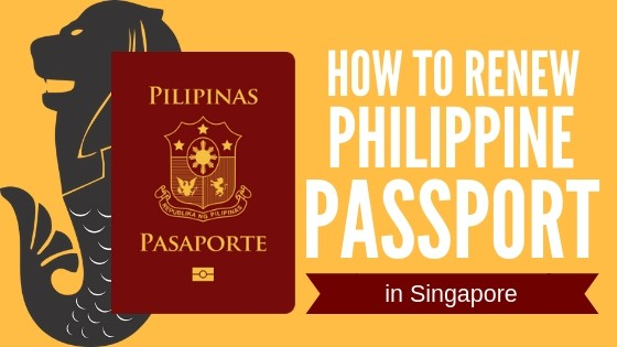 how to renew philippine passport in singapore