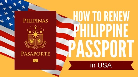 philippine passport renewal in usa