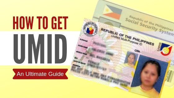 how to get umid or new sss id