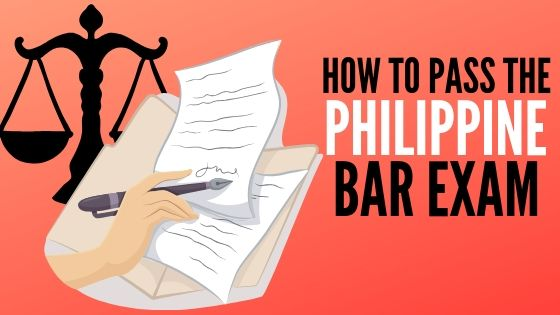 how to pass the bar exam philippines