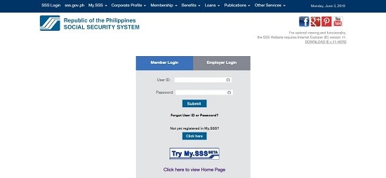 how to check sss contribution 1