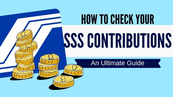 how to check sss contribution in the philipines