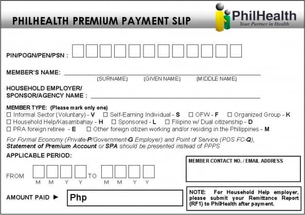 how to pay philhealth contribution 3