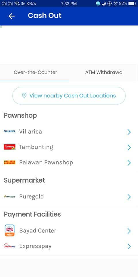 how to cash out gcash without card